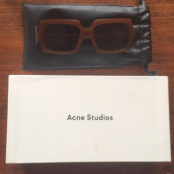 0c88db4692 Acne Accessories - Acne Large George Sunglasses Brown